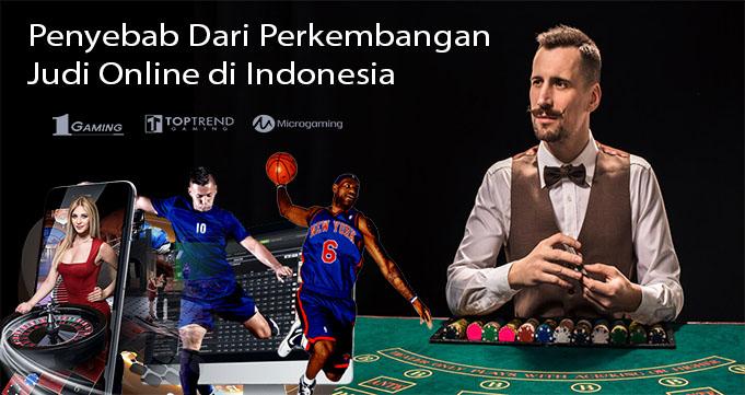Penyebab Dari Perkembangan Judi Online di Indonesia